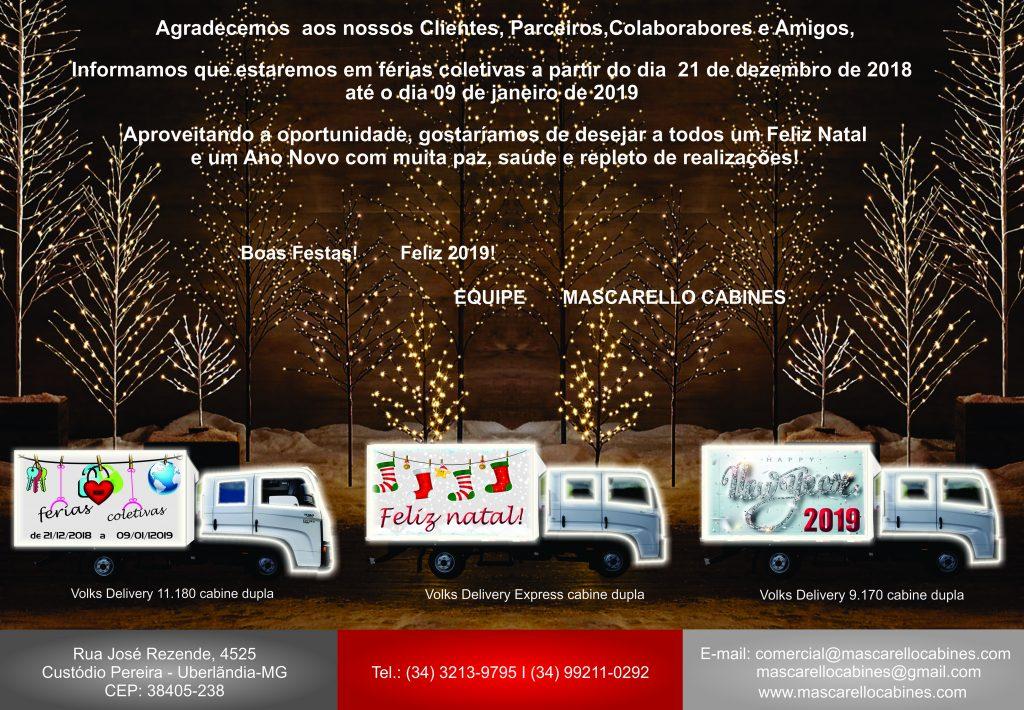 Ferias 2018-2019 Mascarello Cabines